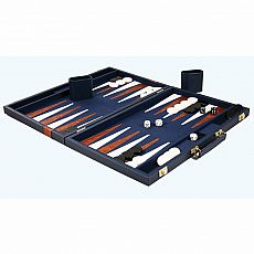 "15"" Vinyl Backgammon Set Board Game"