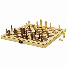 "12"" Wood Chess Set"