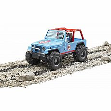 Jeep Cross Country Racer w/Driver - Blue