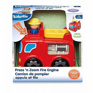Press 'N Zoom Fire Engine