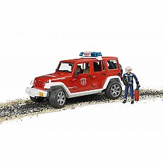 Jeep Rubicon Fire Vehicle with Fireman