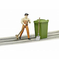 Garbage Man Figure Set