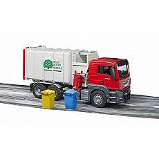 MAN TGS Side Loading Garbage Truck