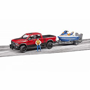 RAM 2500 Power Wagon & Trailer