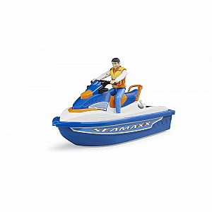 Bworld Personal Water Craft with Driver