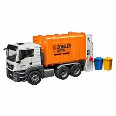 MAN TGS Rear Loading Garbage Truck - Orange