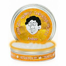 "4"" Thinking Putty - Amber - Glow in the Dark"