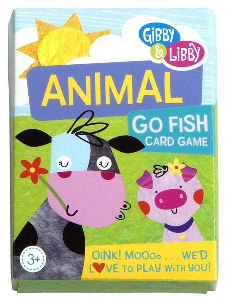 Animal go fish card game totally thomas inc for Card game go fish