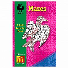 Buki Activity Book - Mazes