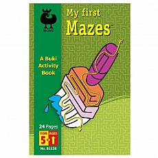Buki Activity Book - My First Mazes