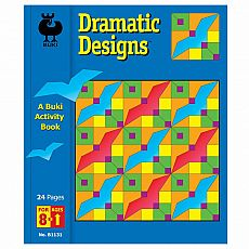 Buki Activity Book - Dramatic Designs