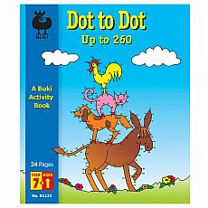 Buki Activity Book - Dot to Dot Up to 260