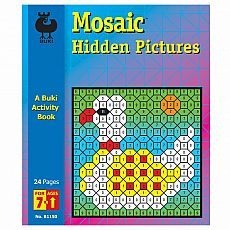 Buki Activity Book - Mosaic Hidden Pictures