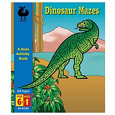 Buki Activity Book - Dinosaur Mazes