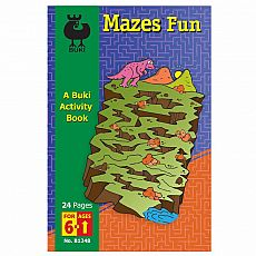 Buki Activity Book - Mazes Fun