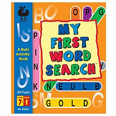 Buki Activity Book - My First Word Search