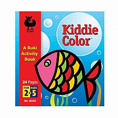 Buki Activity Book - Kiddie Color