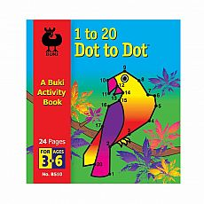 Buki Activity Book - 1 to 20 Dot to Dot