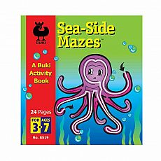 Buki Activity Book - Sea-Side Mazes