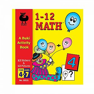 Buki Activity Book - 1-12 Math