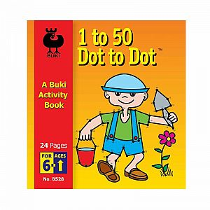 Buki Activity Book - 1 to 50 Dot to Dot