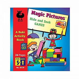 Buki Activity Book - Hidden Pictures Hide and Seek Games