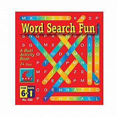 Buki Activity Book - Word Search Fun