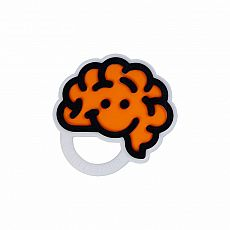 Brain Teether - Orange