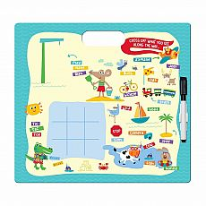 Vacation Color It! Wipe-Off Activity Board