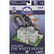 3D Puzzle White House 64pc