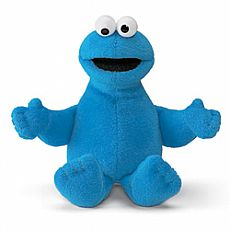 Cookie Monster Beanbag 6.5""