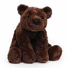 Cozy Chocolate Bear 8""