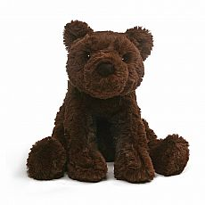 Cozy Chocolate Bear 10""