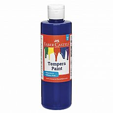 Blue Tempera Paint 8oz.