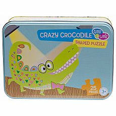 Crazy Crocodile Shaped 25-pc Puzzle