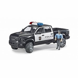 RAM 2500 Police Pick-Up Truck with Police Officer