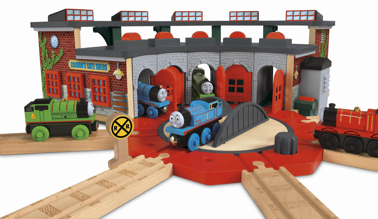 Deluxe Roundhouse by Fisher-Price - Totally Thomas Inc.
