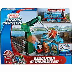 TrackMaster Demolition at the Docks Set