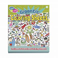 Giant Coloring Sheets - Let the Coloring Begin