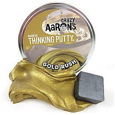 "4"" Thinking Putty - Gold Rush - Super Magnetic"