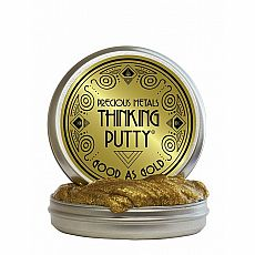 "4"" Thinking Putty - Good as Gold - Precious Metal"