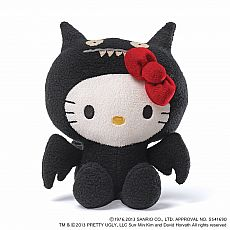 Uglydoll Hello Kitty Ice Bat 7""