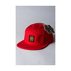 Homegrown 5-Panel Hat - Red