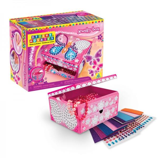 Sticky Mosaics Jewelry Box Totally Thomas Inc