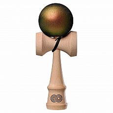 The Cook Kendama - Color Shift - Kaizen - Green and Copper