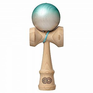 The Cook Kendama - Fade - Kaizen - Teal to White