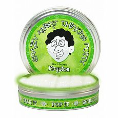 "4"" Thinking Putty - Krypton - Glow in the Dark"