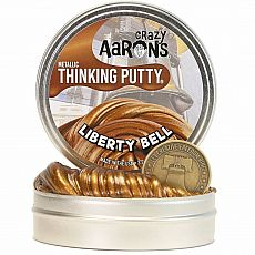 "4"" Thinking Putty - Liberty Bell - Metallic"