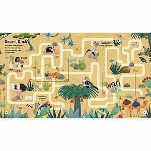 Lift-the-Flap: Animal Mazes