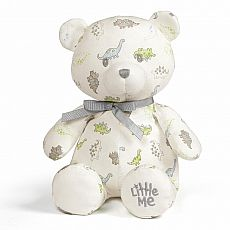 Little Me Dino Print Teddy 10""